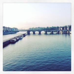 Maastricht in de morgen